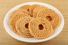 Traditional Indian snack - chakali Stock Photo