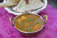 Traditional indian tikka Mutter Paneer Stock Photo