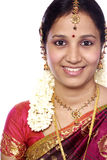 Traditional Indian woman Royalty Free Stock Photography
