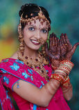 Traditional Indian woman Royalty Free Stock Images