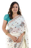 Traditional Indian woman stock photography