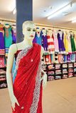 Traditional Indian women`s clothing for sale Royalty Free Stock Images