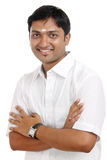 Traditional Indian young man Stock Photography