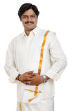 Traditional Indian young man Stock Images