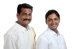 Traditional Indian young people Stock Photography