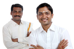 Traditional Indian young people Stock Photos
