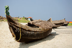 Traditional indians boats Stock Photos