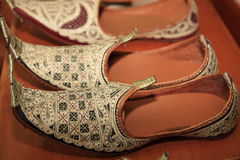 Traditional Indonesia's shoes Stock Photography