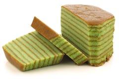 Traditional Indonesian  cake called spekkoek Stock Photography