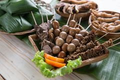 Traditional indonesian culinary food Stock Photo