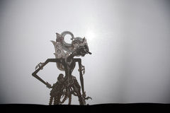 Traditional Indonesian shadow puppet theatre wayang kulit Stock Photos