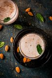 Traditional Inian Thandai Or Sardai Royalty Free Stock Photos