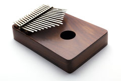 Traditional instrument. Thumb Pianos were first called mbira or likembe. The mbira is the traditional instrument of the Zezuro tribes Royalty Free Stock Image