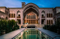 Traditional Iran palace stock images