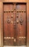 Traditional Iranian door Royalty Free Stock Image