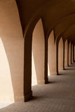 Traditional Iranian Pathway in Yazd Royalty Free Stock Images