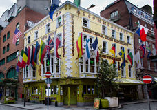Traditional Irish Pub. In Dublin's Temple Bar area Royalty Free Stock Photo