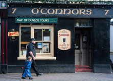 Traditional Irish pub in Killarney, Ireland Royalty Free Stock Photos