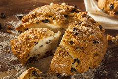 Traditional Irish Soda Bread Royalty Free Stock Photos