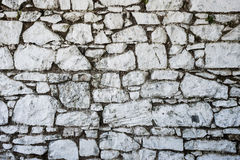 Traditional Irish stone wall Royalty Free Stock Image
