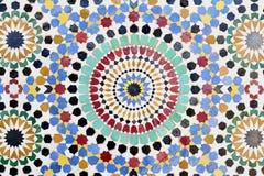 Traditional Islamic mosaic stock photo