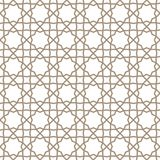 Traditional islamic ornament. Turkish Seamless Pattern. Traditional Arabic Islamic Background. Mosque decoration element Stock Photography