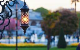 Traditional islamic ramadan lantern Royalty Free Stock Images