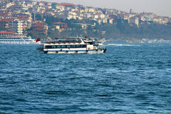 Traditional Istanbul ferryboat Istanbul, Turkey Stock Images