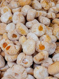 Traditional italian almond cookies Royalty Free Stock Photography