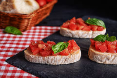 Traditional italian appetizer Royalty Free Stock Photography