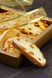 Traditional Italian biscotti cookies Royalty Free Stock Image
