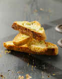 Traditional Italian biscotti cookies Royalty Free Stock Images