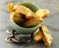 Traditional Italian biscotti cookies Stock Image