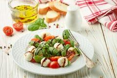 Traditional Italian Caprese salad Stock Photography