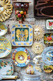 Traditional Italian ceramics Stock Photo