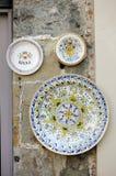 Traditional Italian ceramics Royalty Free Stock Photo