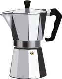 Traditional Italian coffee maker Stock Image