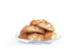 Traditional italian cookies Stock Images