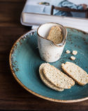 Traditional italian cookies biscotti or cantucci Stock Photography