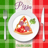 Traditional Italian cuisine. Stock Images