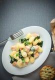 Traditional Italian cuisine Stock Image