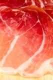 Traditional Italian ham. Royalty Free Stock Photo