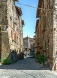 Traditional Italian homes Royalty Free Stock Photo