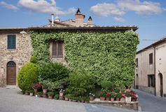 Traditional Italian house Stock Photography