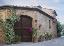 Traditional Italian house royalty free stock image