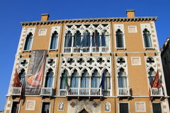 Traditional Italian house in Venice Stock Photography
