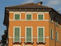 Traditional Italian house in Verona Stock Photography
