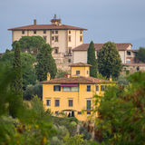 Traditional italian houses in Florence Royalty Free Stock Photography