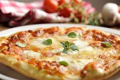 Traditional Italian Margherita pizza Royalty Free Stock Photo