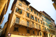 Traditional Italian old houses Royalty Free Stock Image